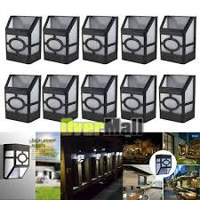 5 10x solar deck lights led outdoor