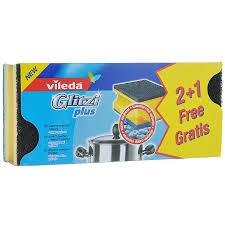 """Набор <b>губок</b> для кастрюль <b>Vileda</b> """"<b>Glitzi</b> Plus"""", 3 шт — купить в ..."""