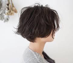 髪の量が多い人に似合うパーマの髪型16選ショートボブミディアム Cuty
