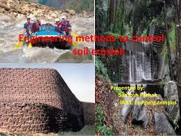 Engineering Methods To Control Soil Erosion