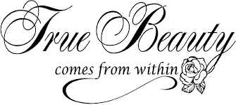 Beauty Shop Quotes Best of Beauty Salon Wall Sticker Quote True Beauty Lettering Mural Wall