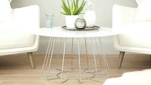 white and chrome coffee table modern white glass round coffee table white high gloss and chrome