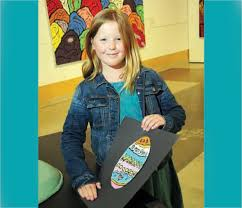 Young artist of the week: Avery Harrison - North Shore News