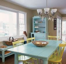 Painting Dining Room Mesmerizing Painted Dining Room Furniture Annie Summery Blue Chalk Paintr