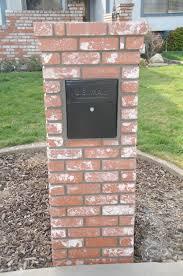 brick mailbox flag. Kevin Writes, Brick Mailbox Flag