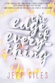 see the stunning cover for jeff giles ya debut the edge of everything