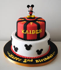 Miss Cupcakes Blog Archive Mickey Mouse Birthday Cake