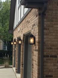 Outdoor Deck Lighting Lowes Wiscombe Exterior Lights By Kichler From Lowes Easy To