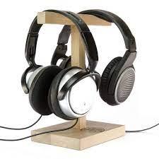 Hang Duo Ahşap Kulaklık Standı ve Kulaklık Tutucu, Askısı - AlbierWoods