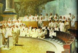 Resultado de imagem para Catilinárias de Cícero