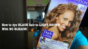 How To Dye Black Hair To Golden Brown Without Bleach Kuwr