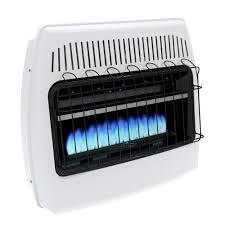 dyna glo 30 000 btu blue flame vent free lp wall heater