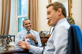 barak obama oval office golds. Barack Obama And Bryan Cranston On The Roles Of A Lifetime Barak Oval Office Golds
