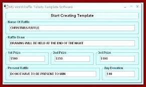 Create Tickets In Word Create A Ticket Template Free Fundraiser Tickets Template