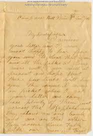 John Sheahan Letter From Belle Plain Virginia 1863 Maine