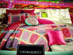 Cynthia Rowley Quilts – boltonphoenixtheatre.com & ... Cynthia Rowley Bedding Tropical Paisley New Cynthia Rowley Purple 3pc  Medallion Moroccan Boho Full Queen Quilt ... Adamdwight.com