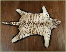 tiger skin rug white tiger skin rug tiger skin rug taxidermy