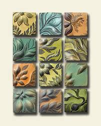 ceramic wall art tile by natalie blake studios designs85 art