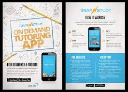Make Flyer App Entry 12 By Belliskc For Design A Tutoring App Flyer
