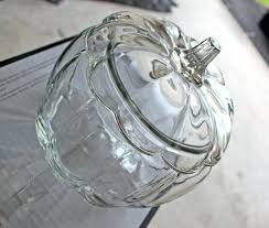 clear glass pumpkins cler for small