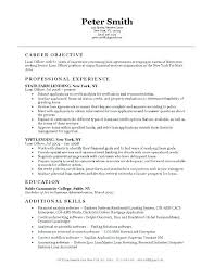 security guard resume objective security guard resume objective police officer resume example resume