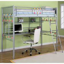 metal bunk bed with desk underneath. Loft Bed With Desk Underneath For More Freed Up Space In A Shared Room. Metal Bunk Pinterest