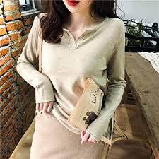 lkjhg Sweater Spring V-Neck Sweater Thin Section ... - Amazon.com