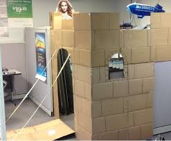 cubicle office space. cardboard cubicle castles office space