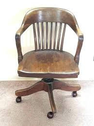 Wooden Swivel Desk Chair Big Tall Office Chairs Inspirational Barrel  Vintage Wood E53