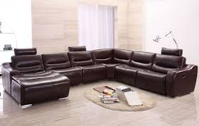cool couches sectionals. Image Of: Brown Reclining Sectional Sofa Cool Couches Sectionals E