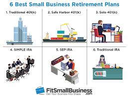 6 Best Small Business Retirement Plans 2018
