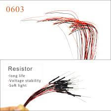 <b>20PCS with 1.5K</b> resistor 0603 SMD model train HO N OO scale Pre ...
