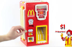 French Fry Vending Machine Magnificent LEGO McDonald's French Fry Vending Machine I'm Lovin' It Technabob