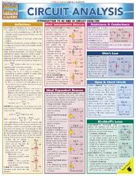Quick Study Academic Charts Circuit Analysis Laminate Reference Chart Quickstudy