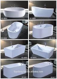 Very Small Bathtubs ad6646 freestanding very small bathtub 1 meter acrylic square 6019 by uwakikaiketsu.us