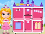 barbie princess room free online game on 4j com