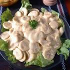 banana salad dressing