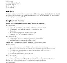 Administrative Resume Templates Fascinating Office Administration Sample Resume Administrative Resume Sample