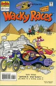 hanna barbera presents 1995 7 archie ics wacky races cartoon express tv book