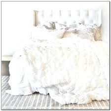 good white bedding sets queen decoration ideas comforter ruffle set for our duvet
