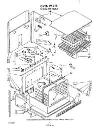 kebi100vbl electric built in oven oven parts diagram