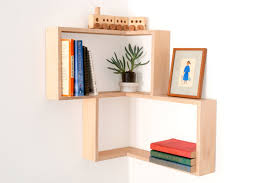 outstanding modern wall art book shelves diy corner shelf display