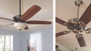 hampton bay hugger in black ceiling fan with light indoor fans lights