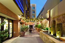 patio at our senior living community in bankers hill ca