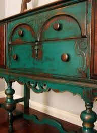 distressed turquoise furniture. Glazed Turquoise Furniture Distressed Sideboard Home Pinterest Mobilier De Salon Meubles Peints Et Meuble With