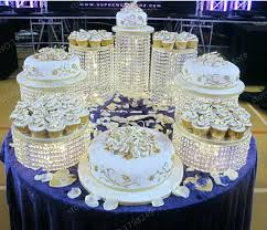 wedding cake stands er crystal transpa acrylic stand centerpiece themed birthday party bling wedding cake stands
