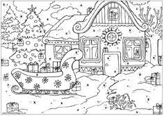 Small Picture Winter Scenes Coloring Pages Printable Winter Pinterest