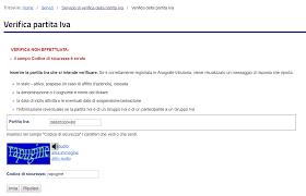 Come verificare Partita IVA e Codice Fiscale - MarcoPericci.com