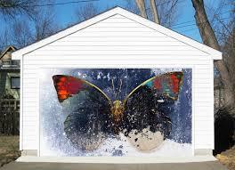 garage door murals3D Butterfly 306 Garage Door Murals Wall Print Decal Wall Deco AJ