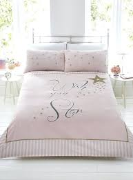 gold bedding set wish upon a star pink gold stripe duvet quilt cover bedding set pillowcases